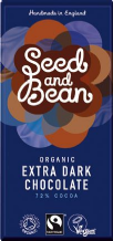 Seed & Bean Organic Extra Dark Chocolate 85g